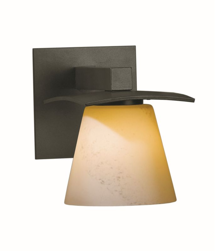 """Hubbardton Forge 206601F Wren Single Light 7"""" High Wall Sconce with"""