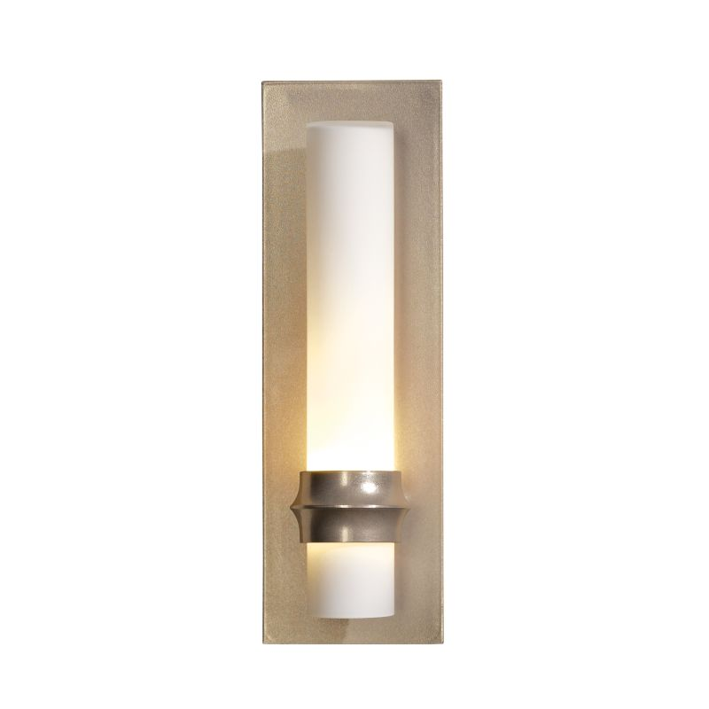 "Hubbardton Forge 207815 Rook Single Light 14"" High Wall Sconce Soft"