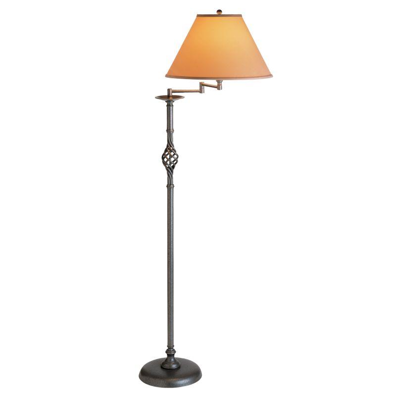 "Hubbardton Forge 242160 Single Light 53"" High Swing Arm Floor Lamp"