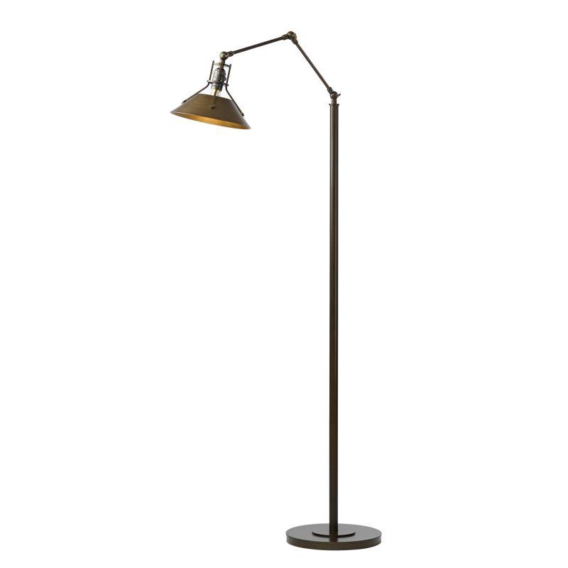 "Hubbardton Forge 242215C Henry Single Light 60"" High LED Swing Arm"