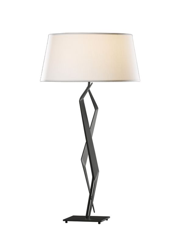 Hubbardton Forge 272850 Facet 1 Light Table Lamp Black Lamps Sale $594.00 ITEM#: 2007189 MODEL# :272850-10 :