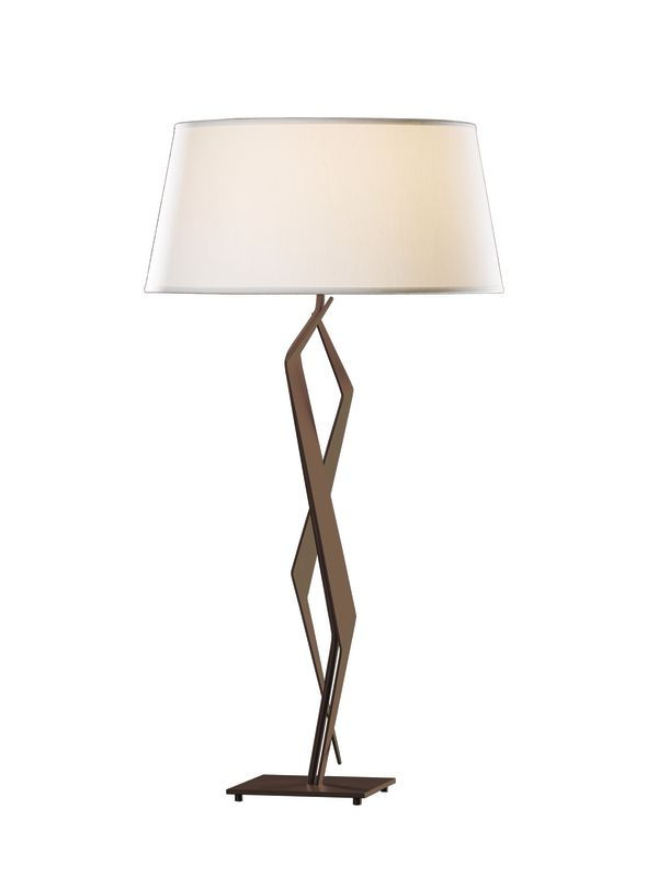 Hubbardton Forge 272850 Facet 1 Light Table Lamp Mahogany Lamps Sale $594.00 ITEM#: 2007185 MODEL# :272850-03 :