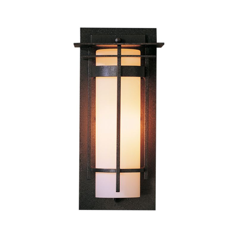 "Hubbardton Forge 305992 Banded Single Light 6"" Wide Outdoor Wall"