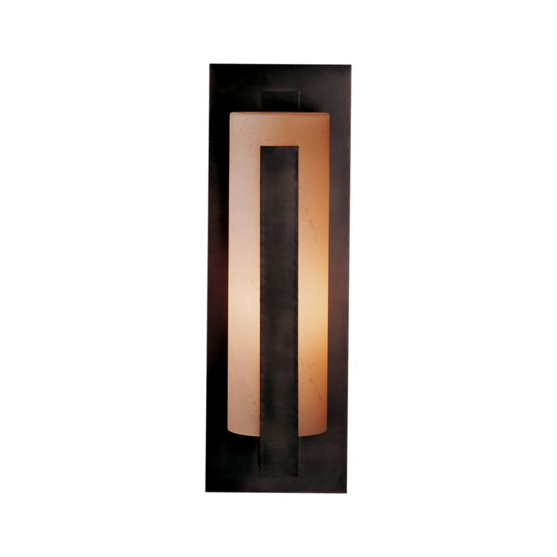 """Hubbardton Forge 307287 Forged Vertical Bars Single Light 7"""" Wide"""