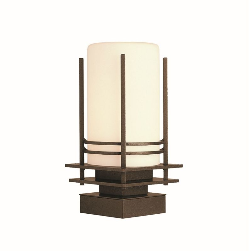 "Hubbardton Forge 335796 Banded Single Light 7"" Wide Outdoor Pier"