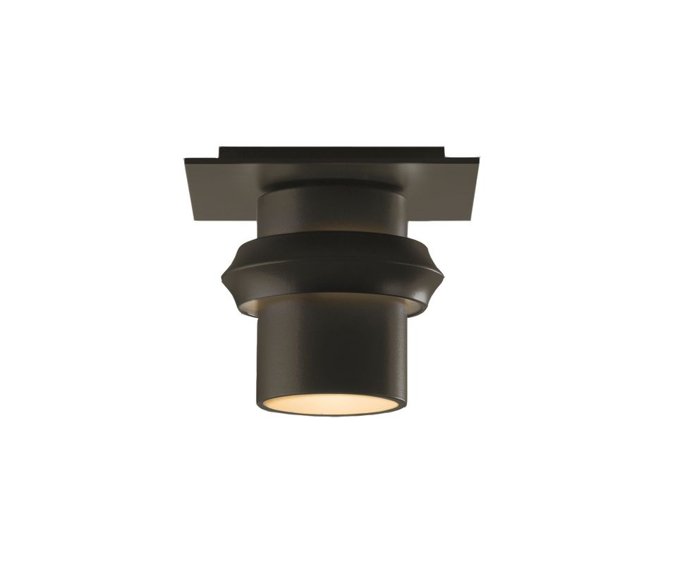 Hubbardton Forge 364901 1 Light 60 Watt Small Outdoor Semi-Flush Mount