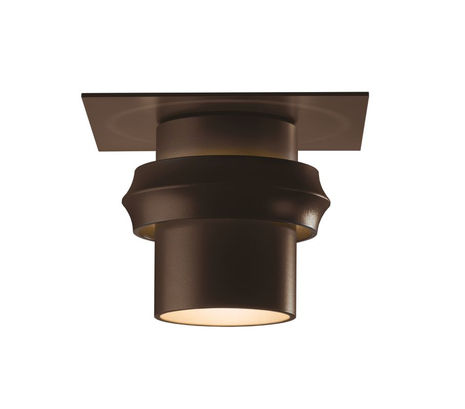 Hubbardton Forge 364903 1 Light 100 Watt Medium Outdoor Semi-Flush