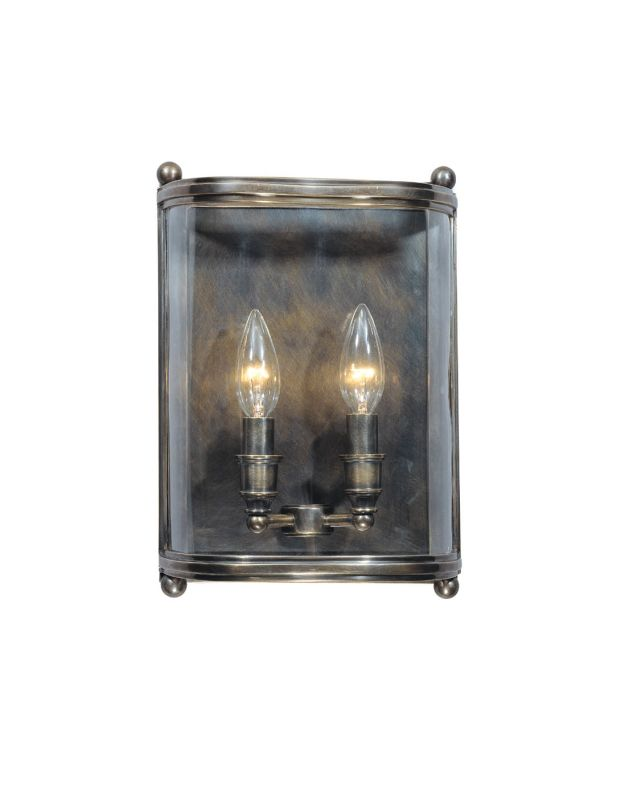 Hudson Valley Lighting 1302 Two Light Wall Sconce from the Mansfield