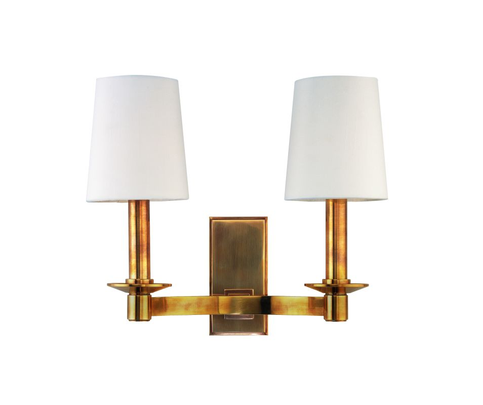 Hudson Valley Lighting 152 Two Light Up Lighting Solid Brass Double