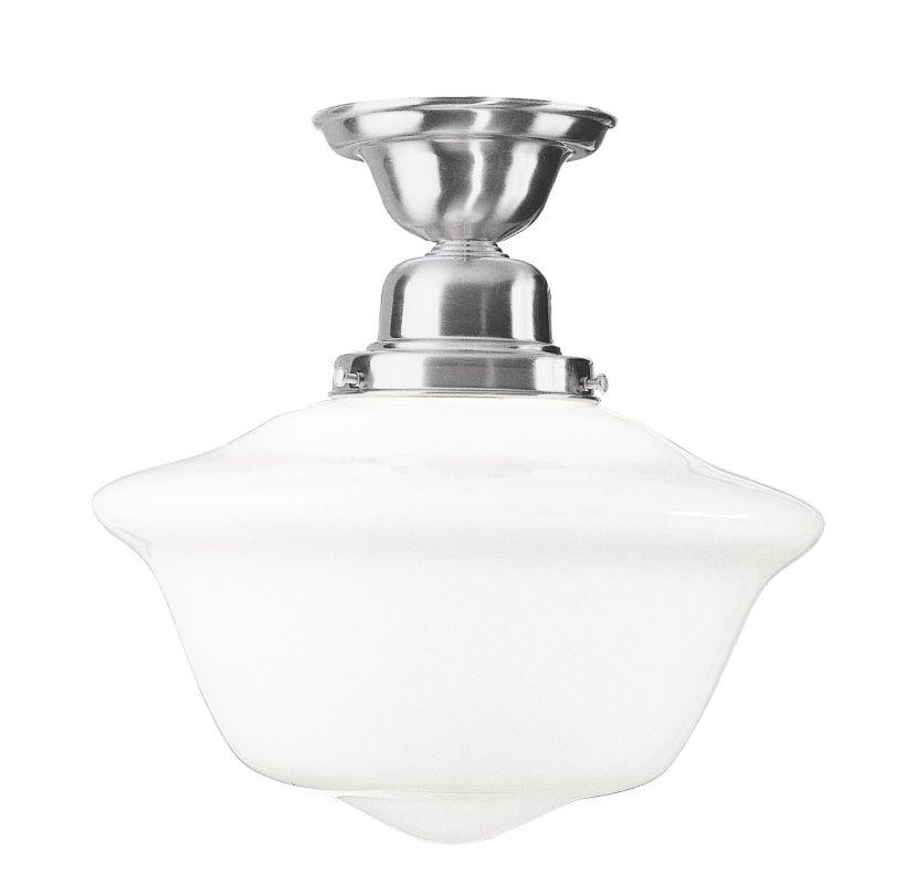 Hudson Valley Lighting 1615F Edison Collection 1 Light Semi Flush Sale $342.00 ITEM#: 983269 MODEL# :1615F-SN UPC#: 806134005764 :