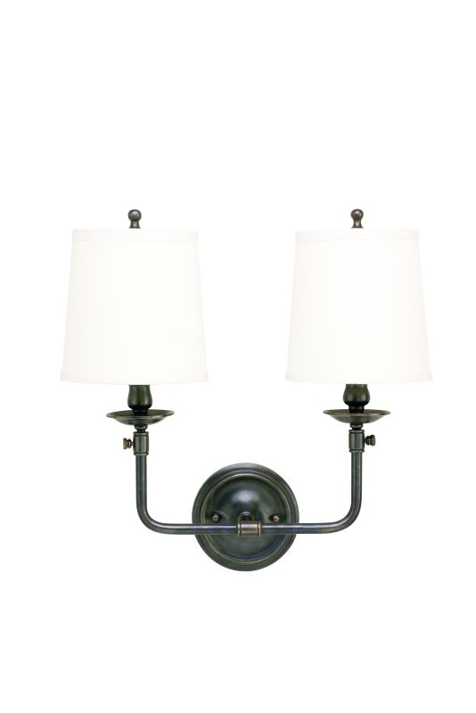 Hudson Valley Lighting 172 Two Light Wall Sconce from the Logan
