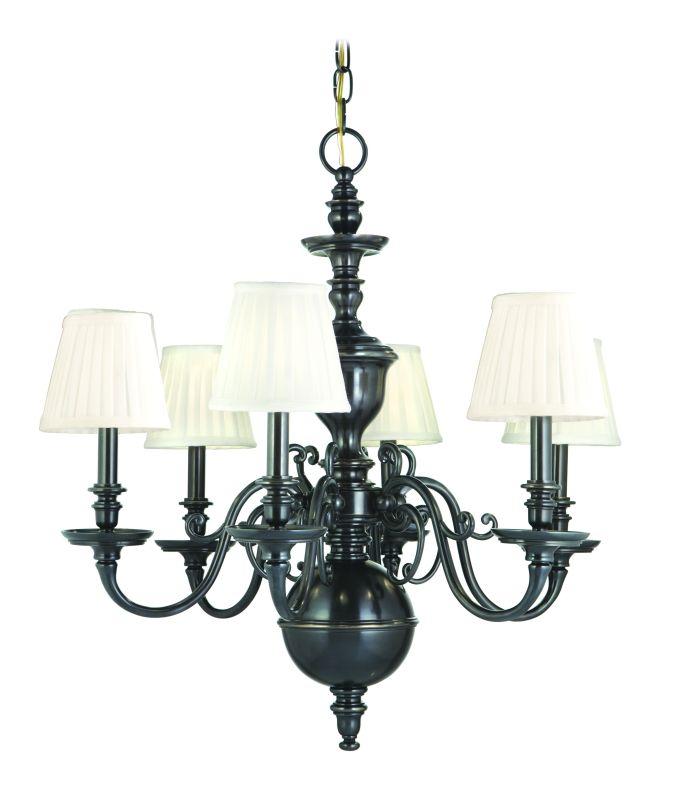 Hudson Valley Lighting 1746 Six Light Up Lighting Cast Brass