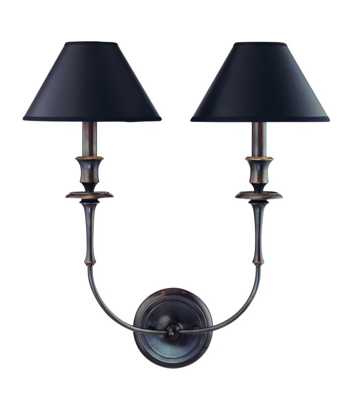 Hudson Valley Lighting 1862 Two Light Up Lighting Wallchiere Style