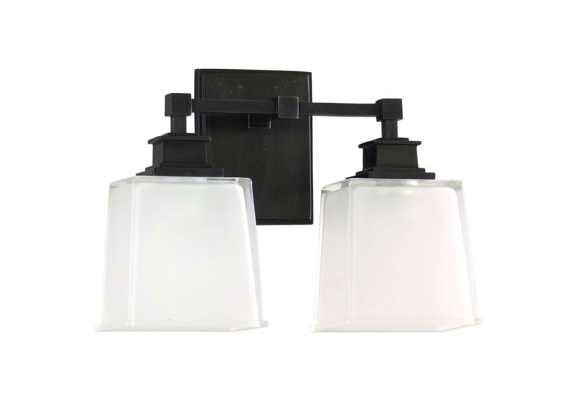 Hudson Valley Lighting 1952 Two Light Wall Sconce from the Berwick Sale $300.00 ITEM#: 982390 MODEL# :1952-OB UPC#: 806134093341 :