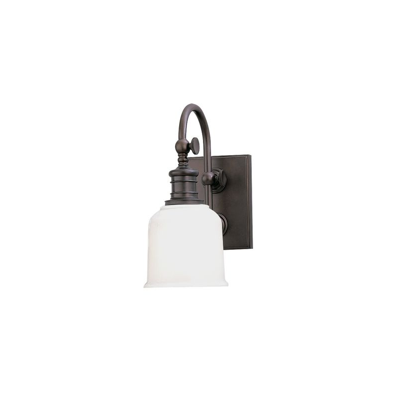 Hudson Valley Lighting 1971 Keswick 1 Light Bathroom Wall Sconce Old Sale $214.00 ITEM#: 525968 MODEL# :1971-OB UPC#: 806134010362 :