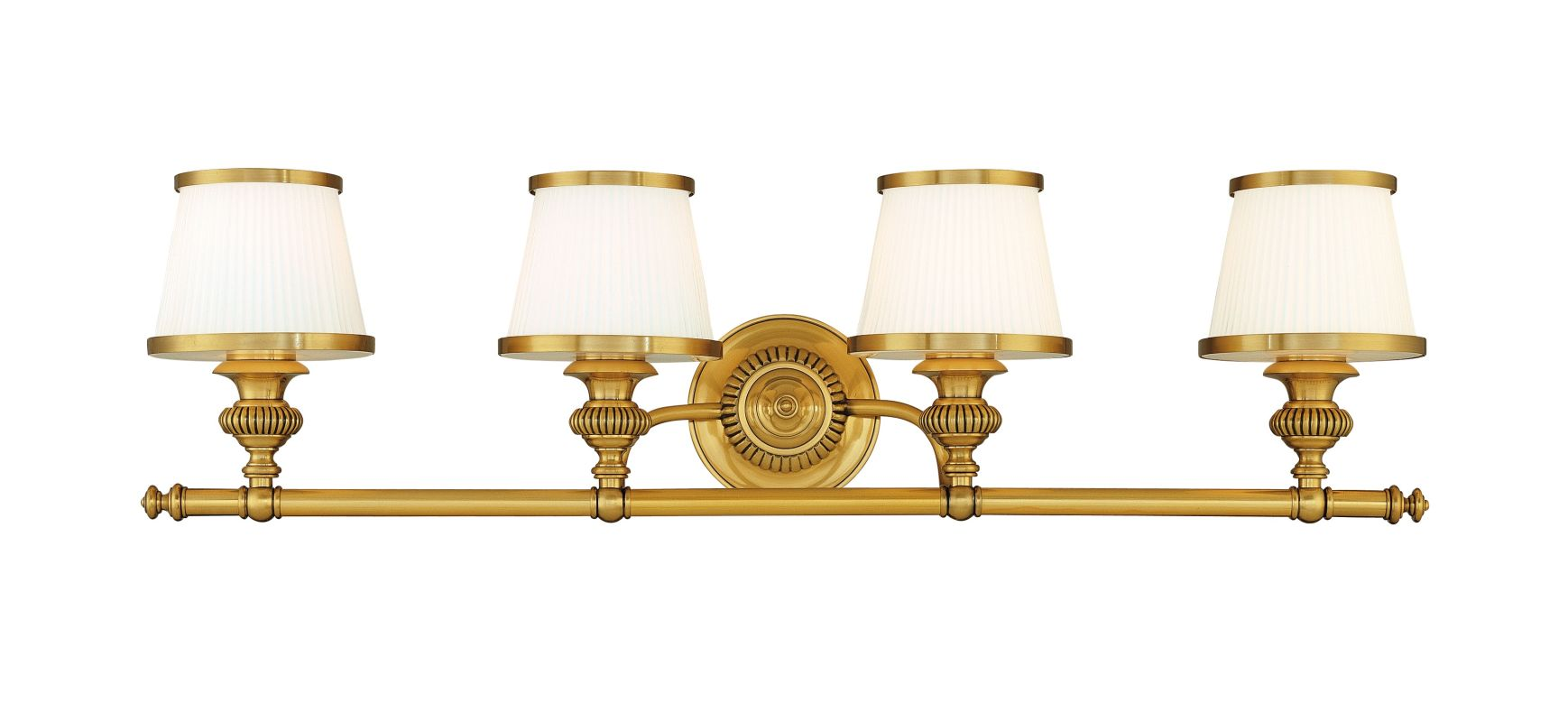 Hudson Valley Lighting 2004 Four Light Wall Sconce from the Milton
