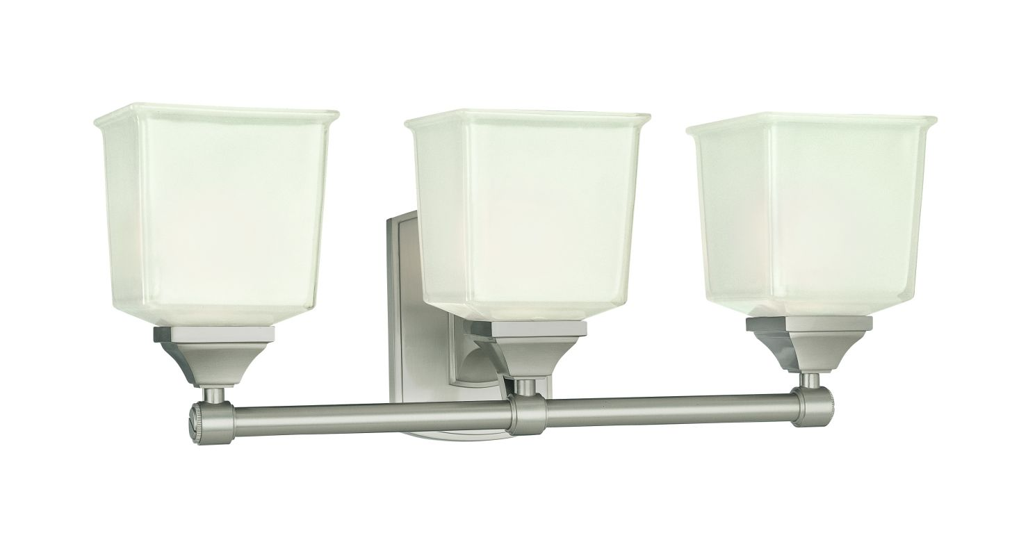 Hudson Valley Lighting 2243 Three Light Wall Sconce from the Lakeland Sale $428.00 ITEM#: 982435 MODEL# :2243-SN UPC#: 806134098094 :