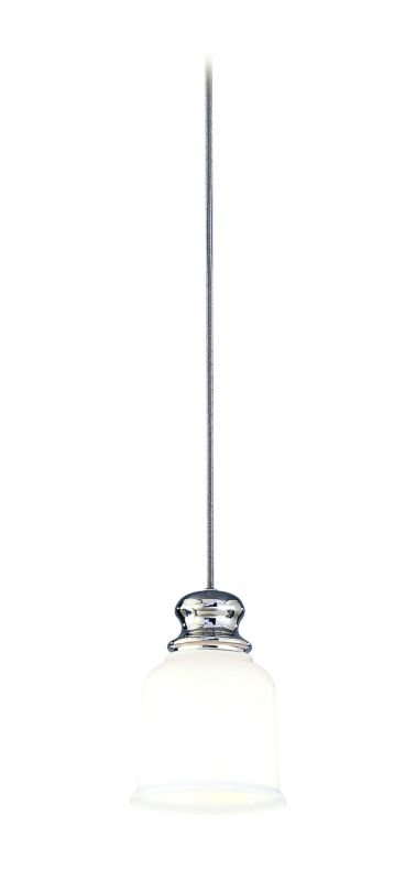 Hudson Valley Lighting 2321 Riverton 1 Light Pendant Polished Nickel