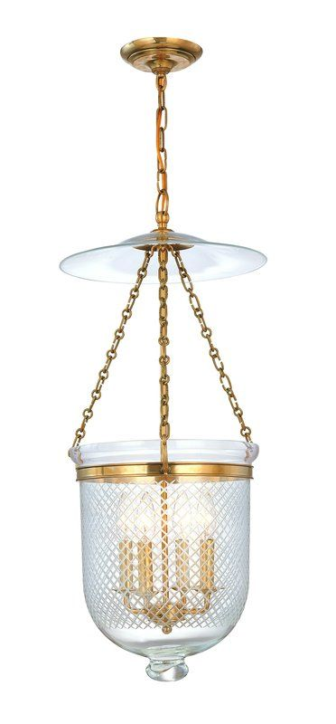 Hudson Valley Lighting 255-C2 Four Light Pendant from the Hampton Sale $1060.00 ITEM#: 983695 MODEL# :255-AGB-C2 UPC#: 806134057350 :
