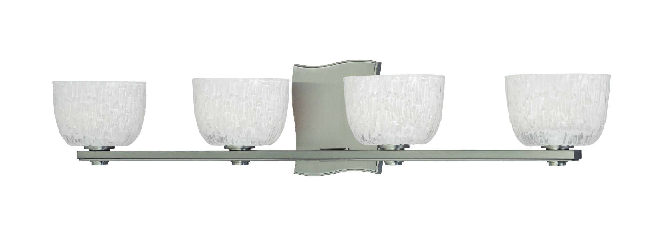Hudson Valley Lighting 2664 Four Light Up Lighting Bath Vanity with Sale $482.00 ITEM#: 1737239 MODEL# :2664-SN UPC#: 806134123529 :