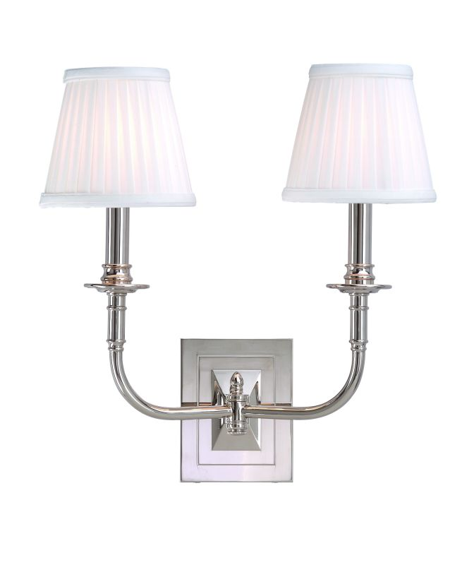 Hudson Valley Lighting 2702 Two Light Wall Sconce from the Lombard