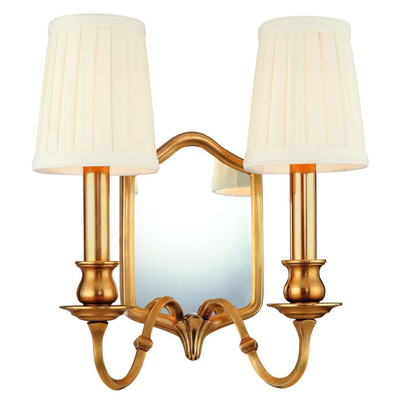 Hudson Valley Lighting 272 Two Light Mirrored Wall Sconce from the