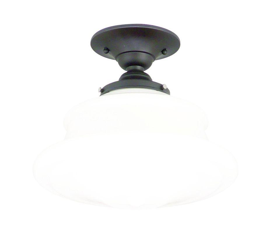 Hudson Valley Lighting 3412F Single Light Semi Flush Ceiling Mount