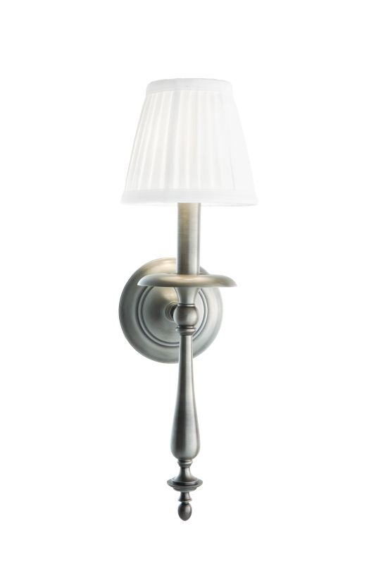 Hudson Valley Lighting 431 Quincy 1 Light Wall Sconce with Pleated