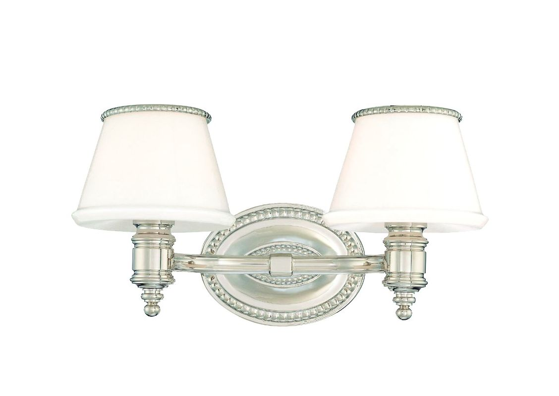 Hudson Valley Lighting 4942 Richmond 2 Light Bathroom Vanity Fixture Sale $344.00 ITEM#: 982690 MODEL# :4942-PN UPC#: 806134101749 :