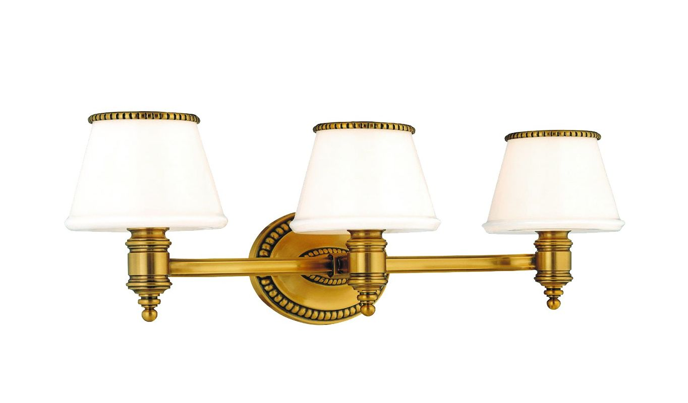 Hudson Valley Lighting 4943 Three Light Wall Sconce from the Richmond
