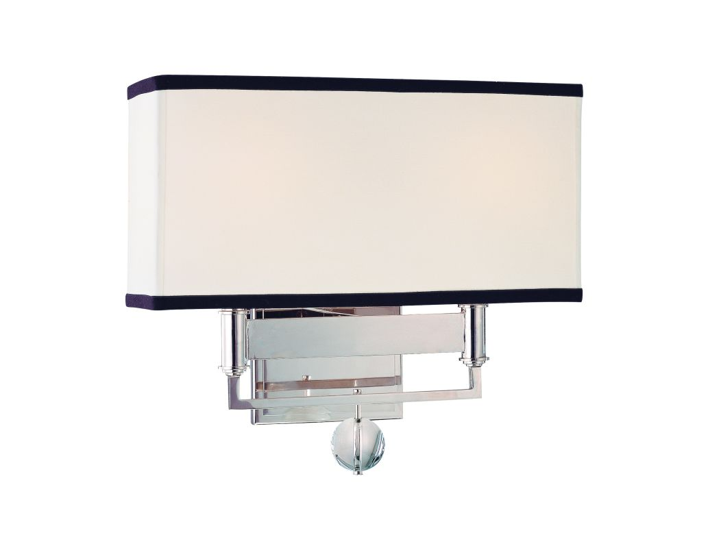 Hudson Valley Lighting 5642 Two Light Up Lighting Wall Sconce with