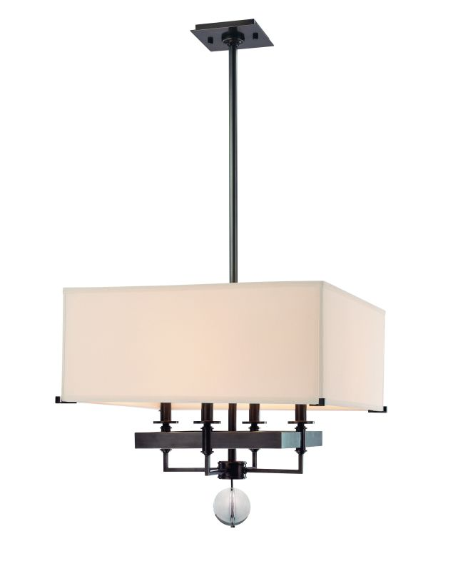 Hudson Valley Lighting 5645 Gresham Park 4 Light Chandelier Old Bronze
