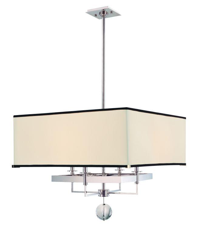 Hudson Valley Lighting 5646 Gresham Park 4 Light Chandelier Polished