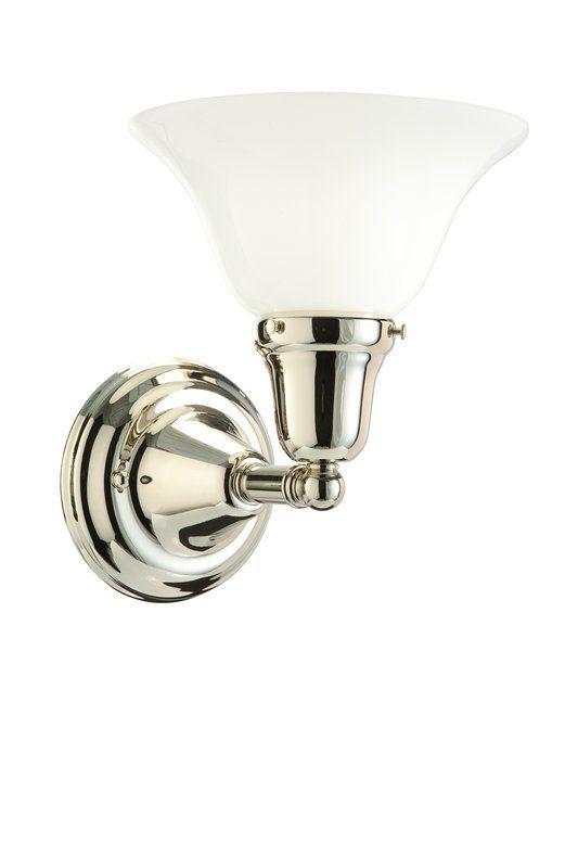 Hudson Valley Lighting 581-415 One Light Wall Sconce from the Edison Sale $172.00 ITEM#: 984585 MODEL# :581-PN-415 UPC#: 806134028381 :