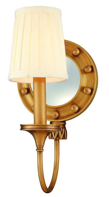 Hudson Valley Lighting 631 One Light Mirrored Wall Sconce from the Sale $320.00 ITEM#: 982213 MODEL# :631-AGB UPC#: 806134055844 One Light Mirrored Wall Sconce Hudson Valley Lighting designs and manufactures distinctive lighting found in the finest homes and upscale hospitality environments where discerning taste prevails. Styles include strong traditional, vintage, reproduction, and contemporary lighting. From the Transitionally Styled Regent Collection Artisan-level craftsmanship All-Metal Construction UL-Rated :