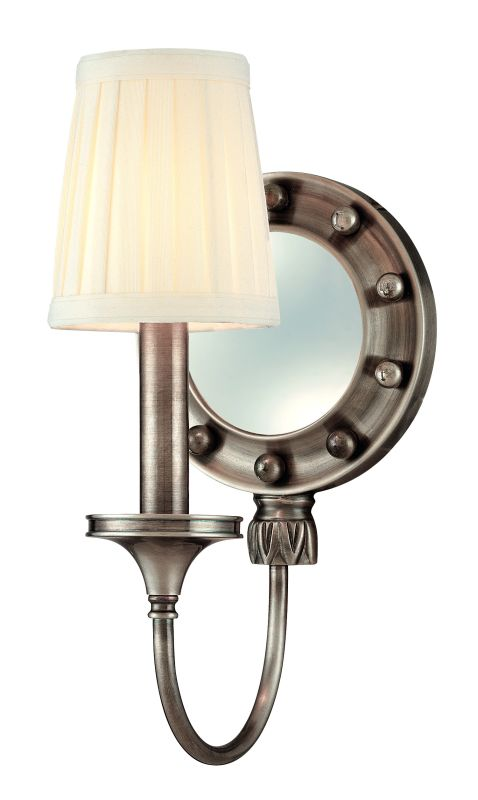 Hudson Valley Lighting 631 One Light Mirrored Wall Sconce from the