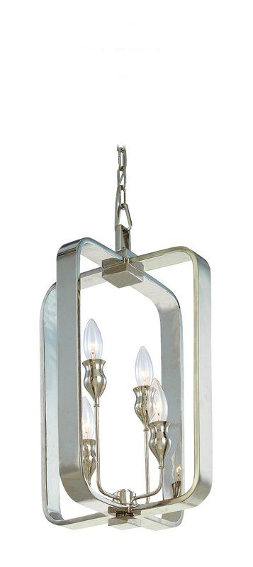 Hudson Valley Lighting 7412 Four Light Pendant from the Rumsford