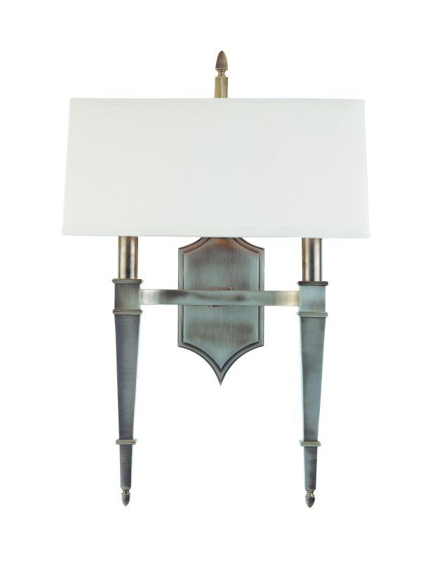 Hudson Valley Lighting 742 Two Light Up Lighting Brass Double