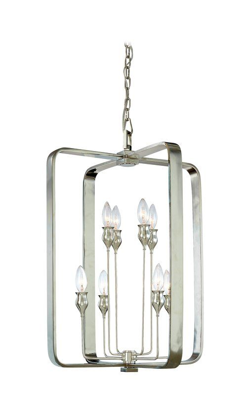 Hudson Valley Lighting 7420 Eight Light Pendant from the Rumsford