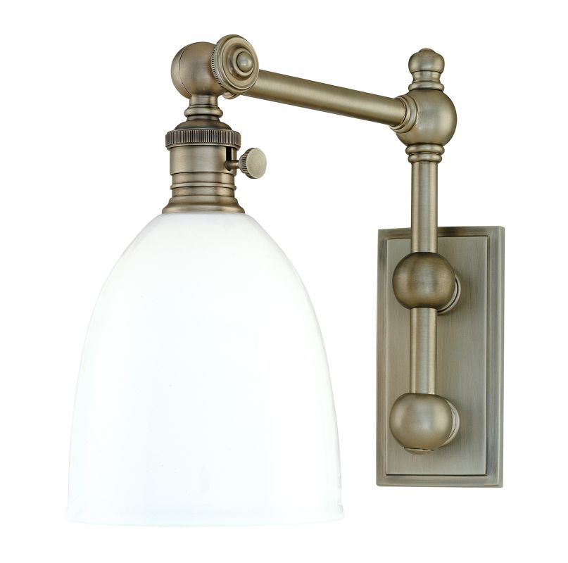Hudson Valley Lighting 762 Roslyn 1 Light Swing Arm Wall Sconce