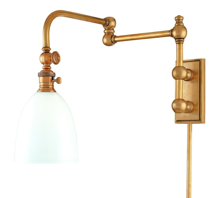 Hudson Valley Lighting 772 One Light Swing-arm Wall Sconce from the