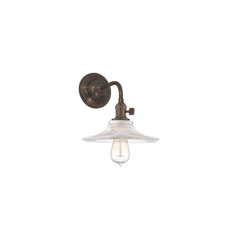 Hudson Valley Lighting 8000-GS6 Heirloom 1 Light Wall Sconce with Sale $278.00 ITEM#: 2063265 MODEL# :8000-OB-GS6 UPC#: 806134128678 :