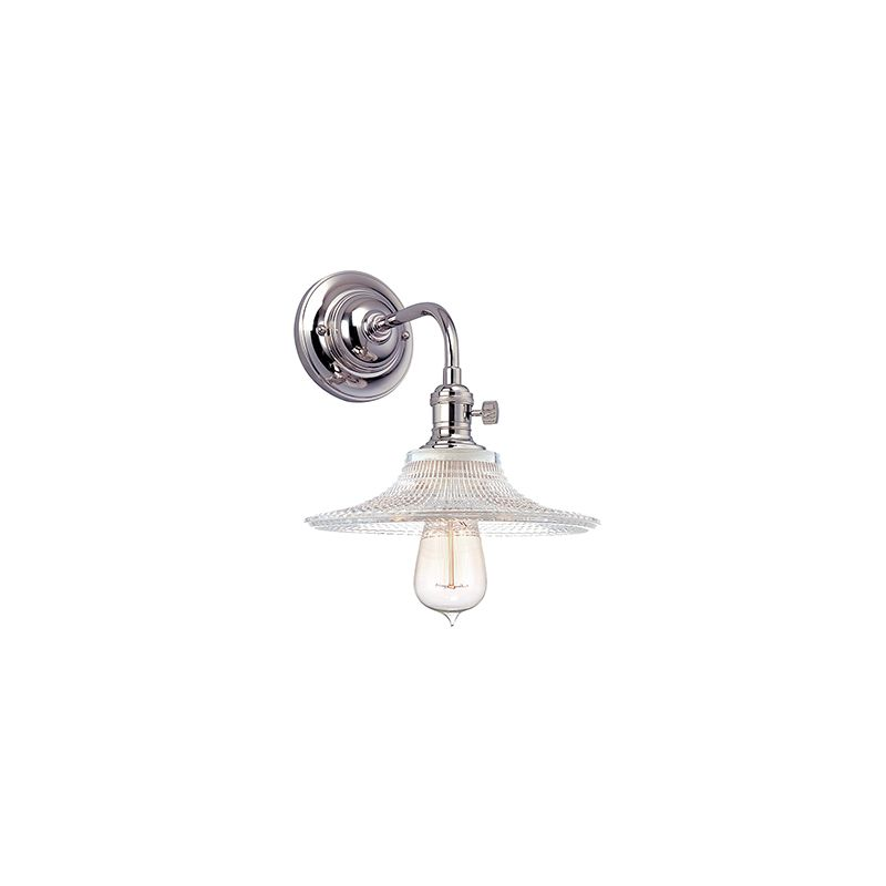Hudson Valley Lighting 8000-GS6 Heirloom 1 Light Wall Sconce with Sale $278.00 ITEM#: 2063269 MODEL# :8000-PN-GS6 UPC#: 806134128685 :