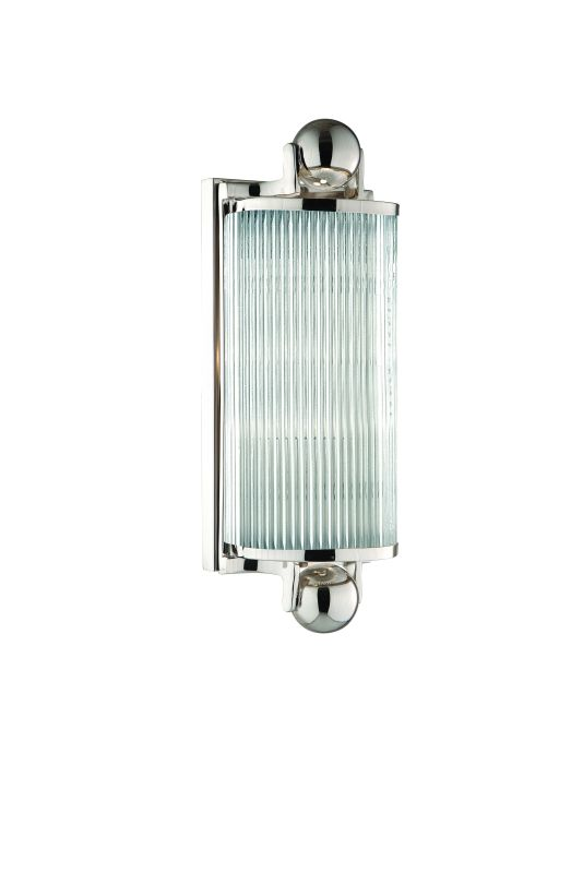 Hudson Valley Lighting 851 One Light Wall Sconce from the Mclean Sale $342.00 ITEM#: 982272 MODEL# :851-PN UPC#: 806134093242 :