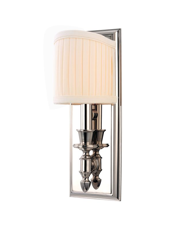 Hudson Valley Lighting 881 Single Light Up Lighting Brass Wallchiere Sale $320.00 ITEM#: 1737791 MODEL# :881-PN UPC#: 806134119713 :