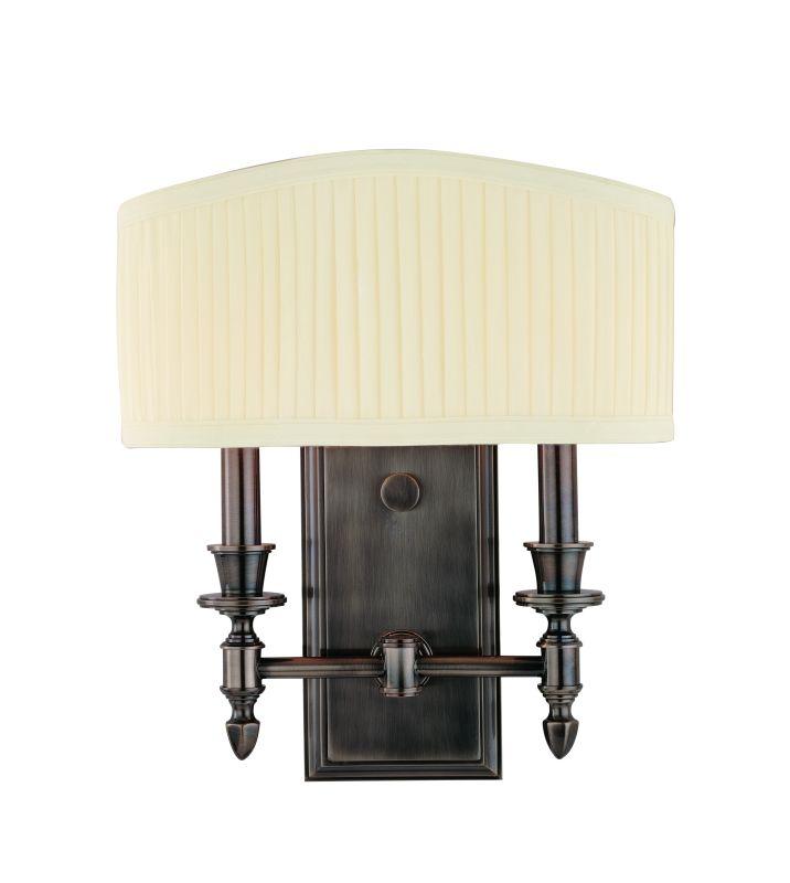 Hudson Valley Lighting 882 Two Light Up Lighting Brass Wallchiere