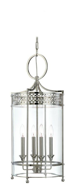 Hudson Valley Lighting 8994 Four Light Pendant from the Amelia