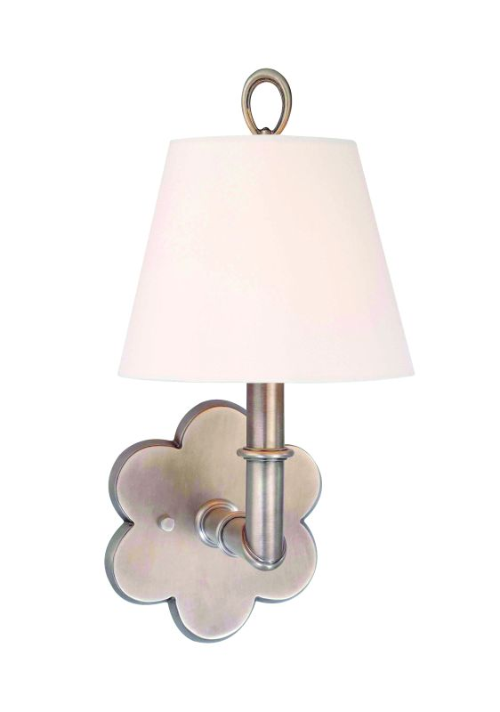 Hudson Valley Lighting 921 Single Light Up Lighting Brass Wallchiere