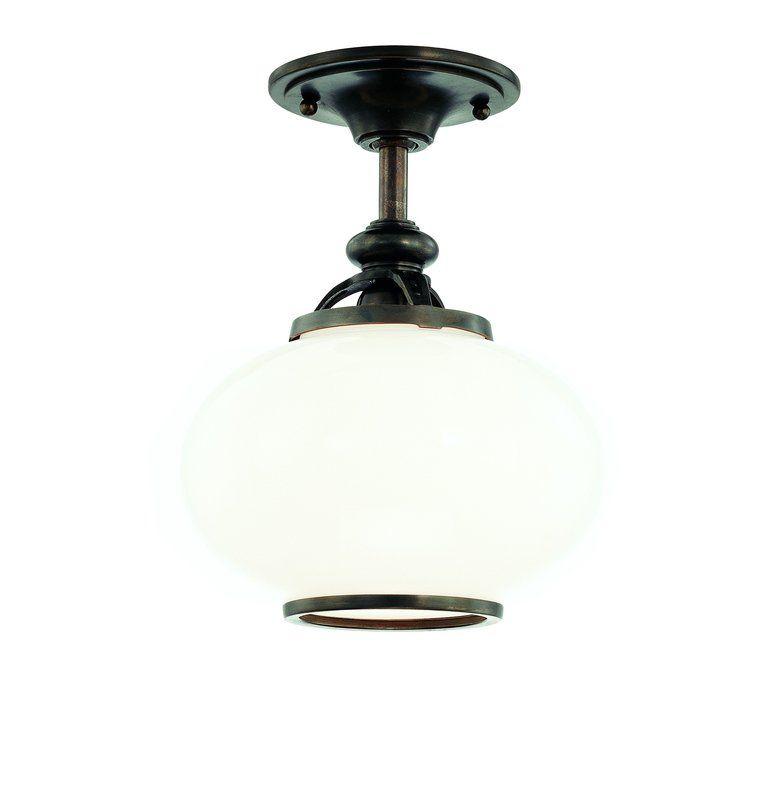 Hudson Valley Lighting 9809F One Light Semi Flush Ceiling Fixture from Sale $300.00 ITEM#: 984892 MODEL# :9809F-PN UPC#: 806134097240 :