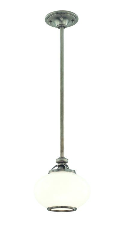 Hudson Valley Lighting 9809 One Light Pendant from the Canton